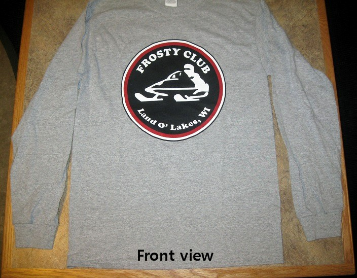 Frosty Long Sleeve T-shirt (front)